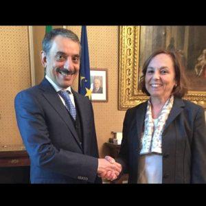 Il Console Generale incontra il Prefetto di Milano Luciana Lamorgese