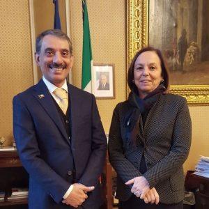 Mr Consul General meets the Prefetto of Milan