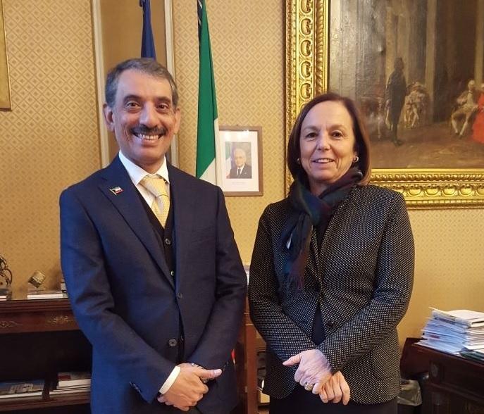 Il Console Generale incontra il Prefetto di Milano