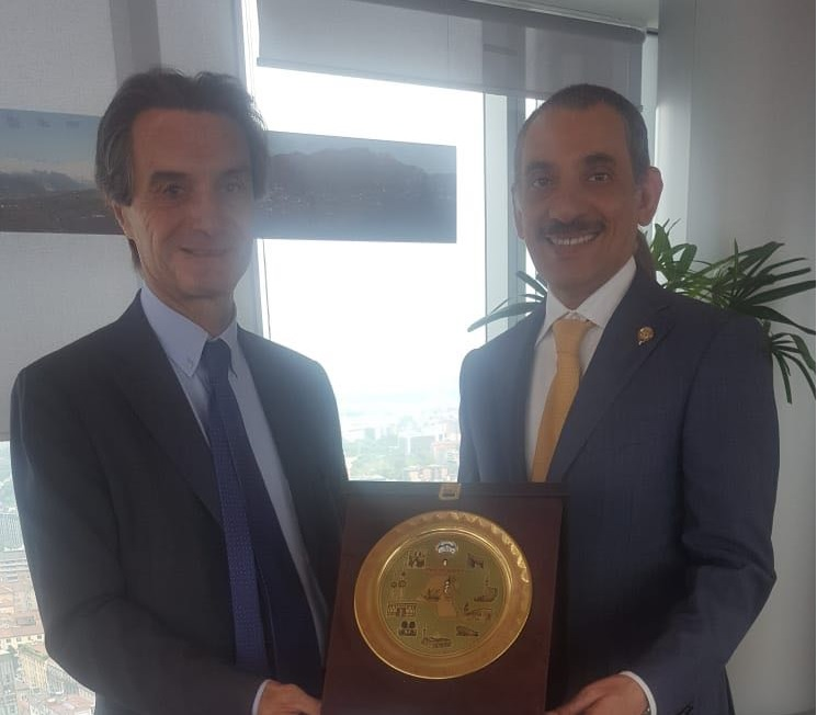 Mr Consul General meets the President of Regione Lombardia