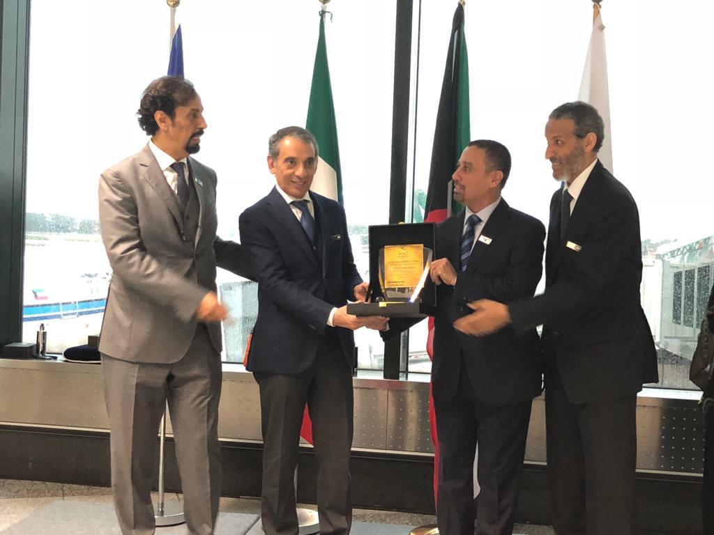 Inaugurato il volo diretto dallo Stato del Kuwait a Milano