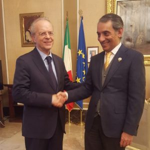 The Consul General meets the new Prefetto of Milan