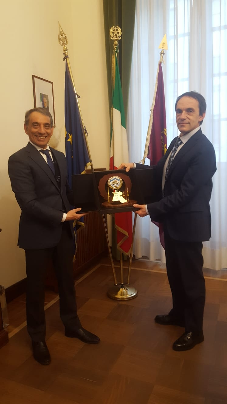 THE CONSUL GENERAL MEETS THE NEW CHIEF OF POLICE OF MILAN