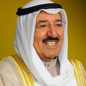 Lutto per la morte dell'emiro del Kuwait, Sheikh Sabah al-Ahmad al-Jaber al-Sabah .